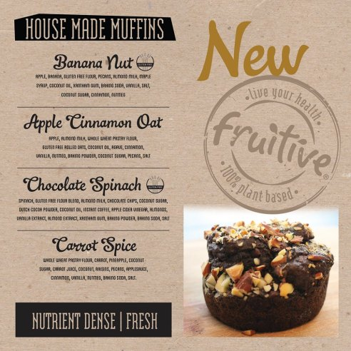 Muffin Menu