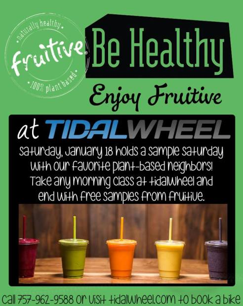 Tidalwheel & Fruitive Sampling Event