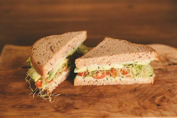 Cucumber Sandwich | Photo By: Ashley Fielden