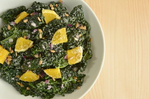Winter Kale Salad | Zest and Zeal
