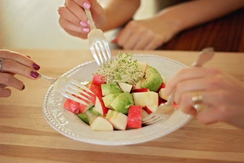 Avocado & Apple Salad | Tedi Sarah