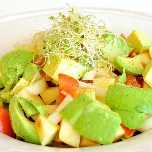 Avocado & Apple Salad | Tedi Sarah