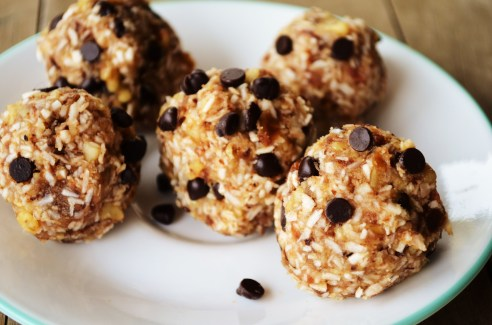 Raw Cookie Dough Balls