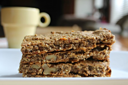 Banana Bread Breakfast Bars