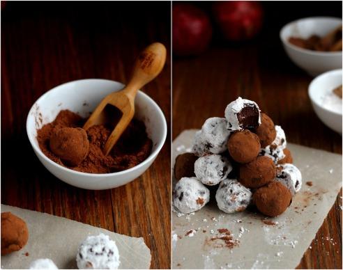 Recipe Friday: Dark Chocolate Olive Oil Truffles