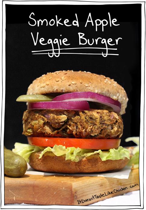 smoked-apple-veggie-burgers