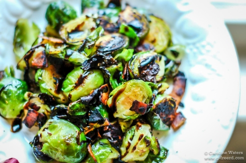 "Recipe Friday: Brussels Sprouts with ""Bacon"""