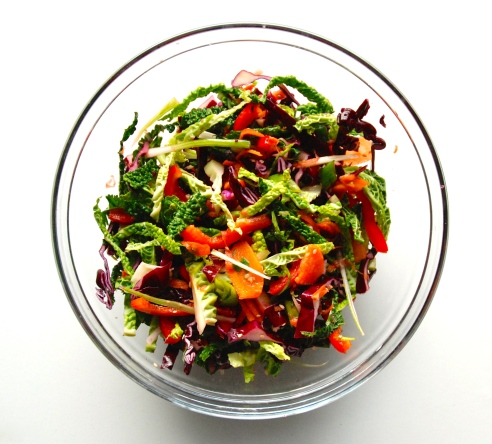 Raw Asian Slaw