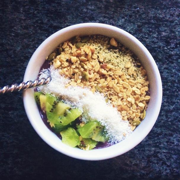 AB & J smoothie bowl