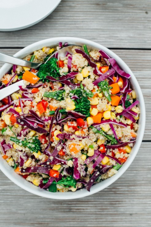 Rainbow-Quinoa-Salad-with-Tahini-Ginger-Dressing