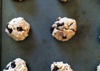 vegan, gluten-free, paleo chocolate chip cookies