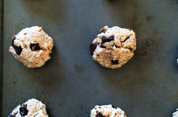 vegan, gluten-free, paleo chocolate chip cookies