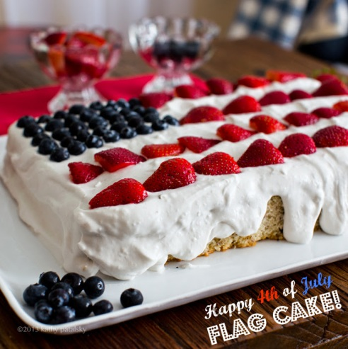 Flag Cake - Healthy Happy Life